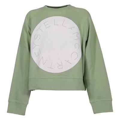 Light green organic cotton sweatshirt