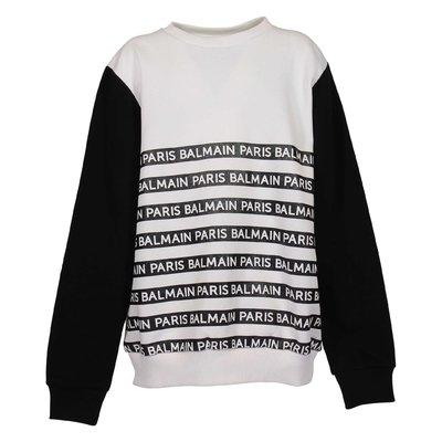 Logo detail sweatshirt