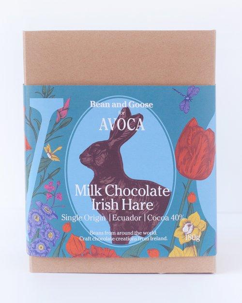 Bean & Goose for Avoca Milk Chocolate Irish Hare