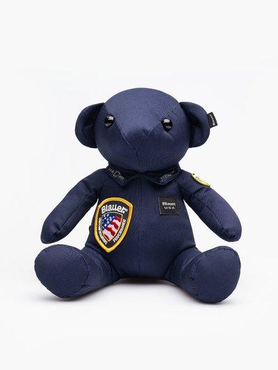 TEDDY BLAUER POLICE BEAR MASCOT