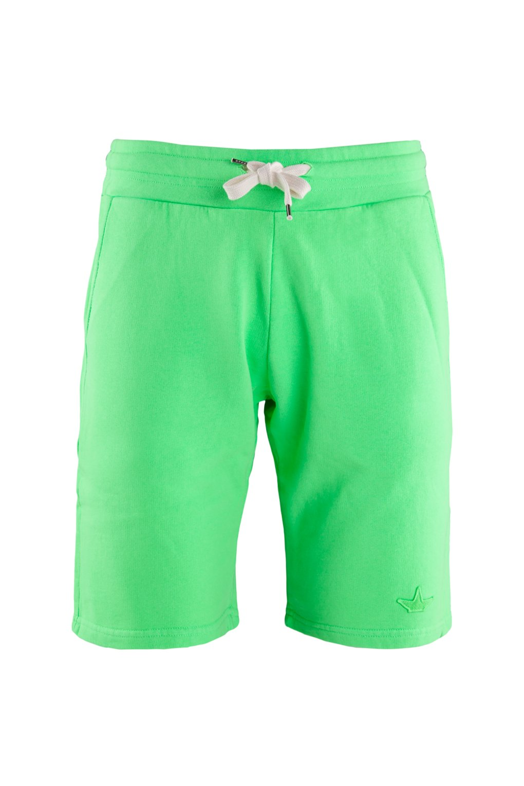 Fleece shorts fluo