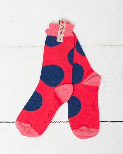 Super Spot Shortie Sock