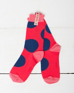 Super Spot Shortie Sock