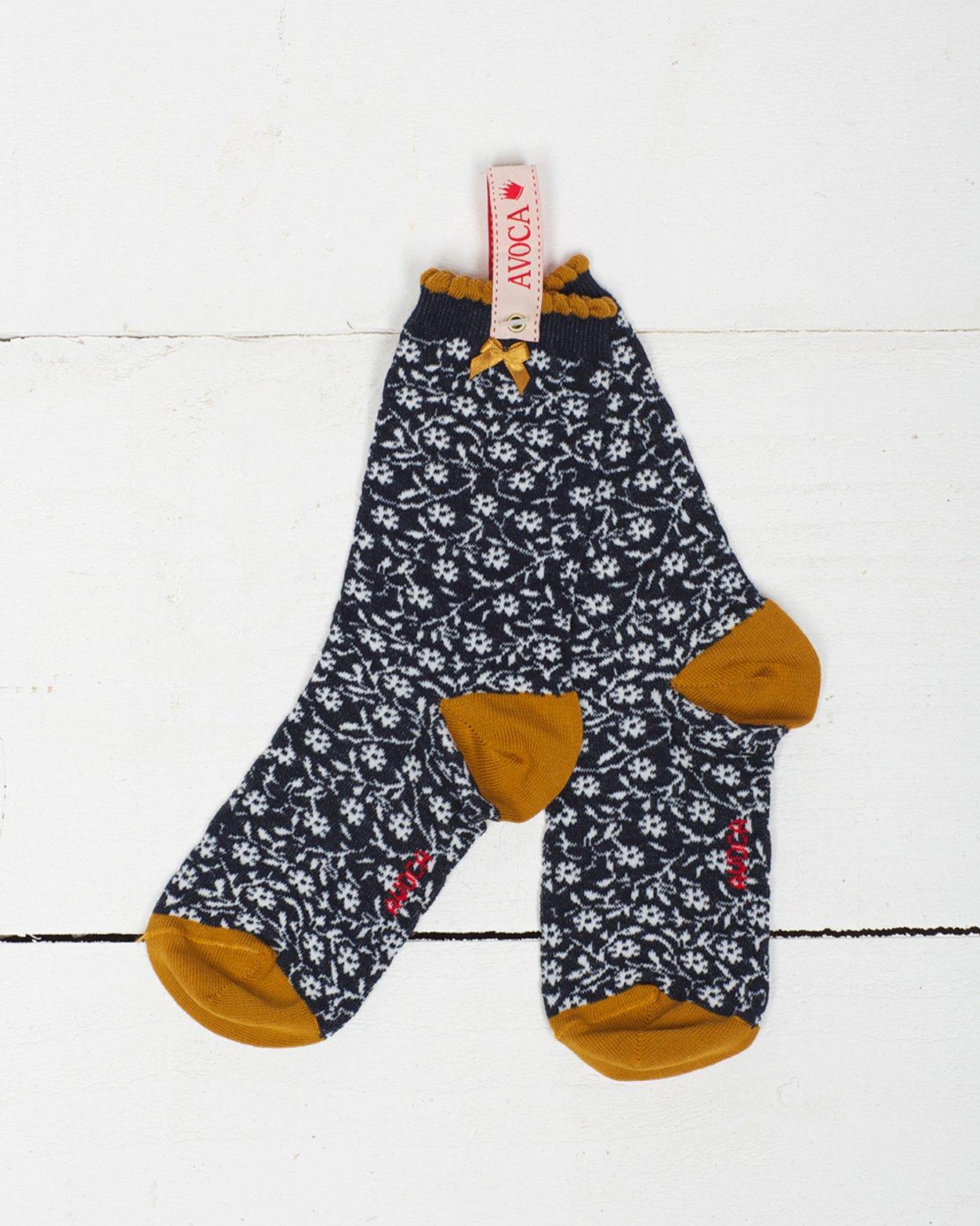 Little Flower Ankle Sock