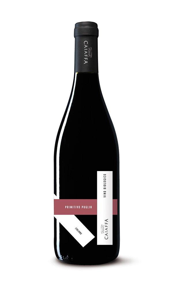 Libiamo - Primitivo Puglia IGT by Caiaffa (Case of 6 - Italian Organic Red Wine) - Libiamo