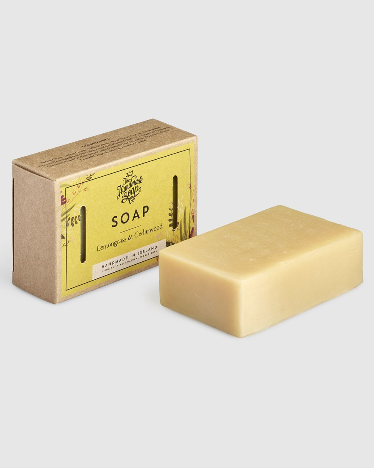 Lemongrass & Cedarwood Soap