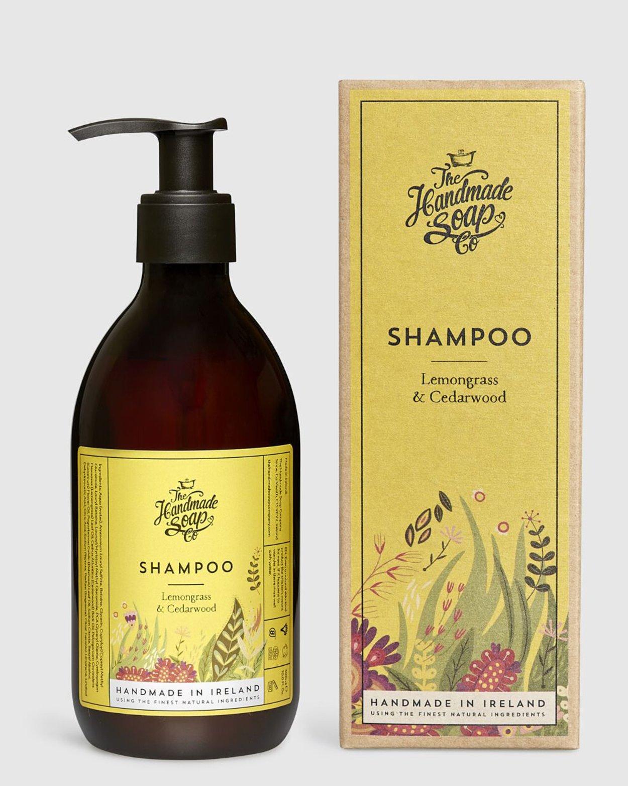 Lemongrass & Cedarwood Shampoo