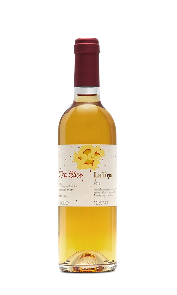 Malvasia Passita L'Ora Felice Colli Piacentini DOC by La Tosa (Italian Sweet White Wine)
