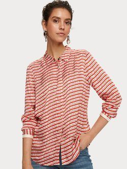 Drapey Satin Shirt