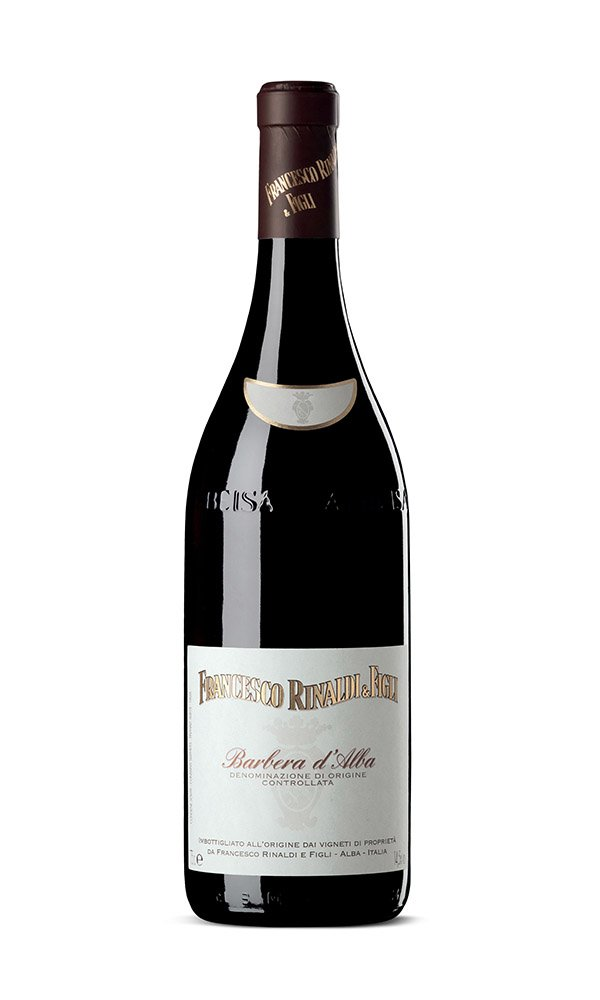 Libiamo - Barbera d'Alba DOC by Francesco Rinaldi (Italian Red Wine) - Libiamo