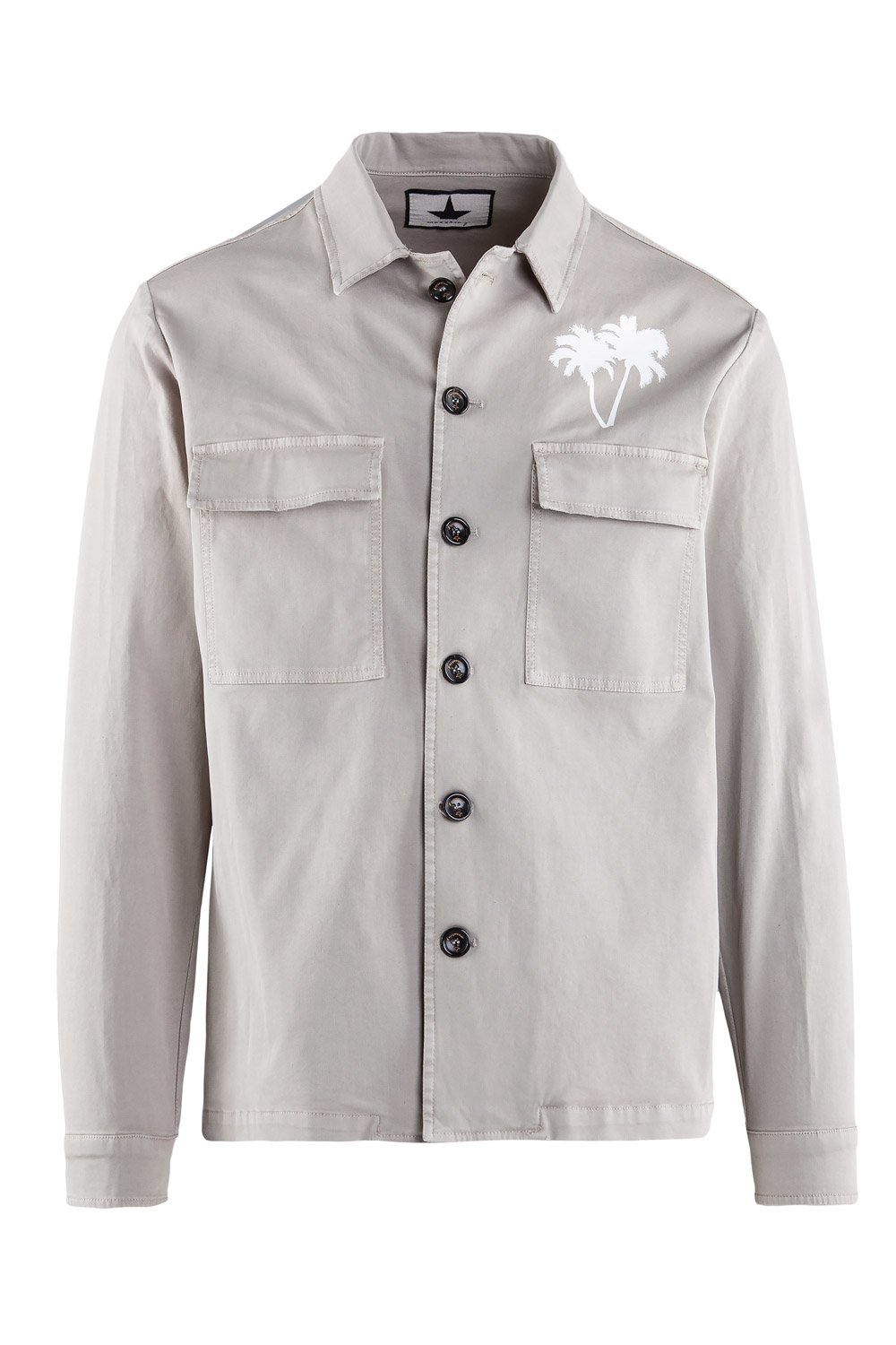 Shirt-Jacket Hawaii print