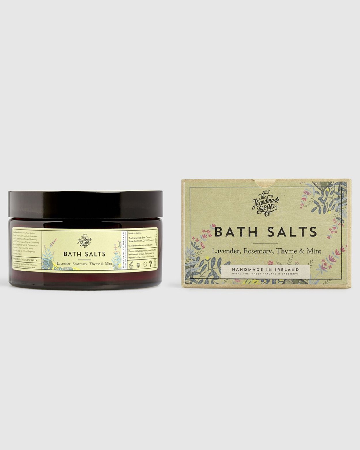 Lavender Rosemary Thyme & Mint Bath Salts