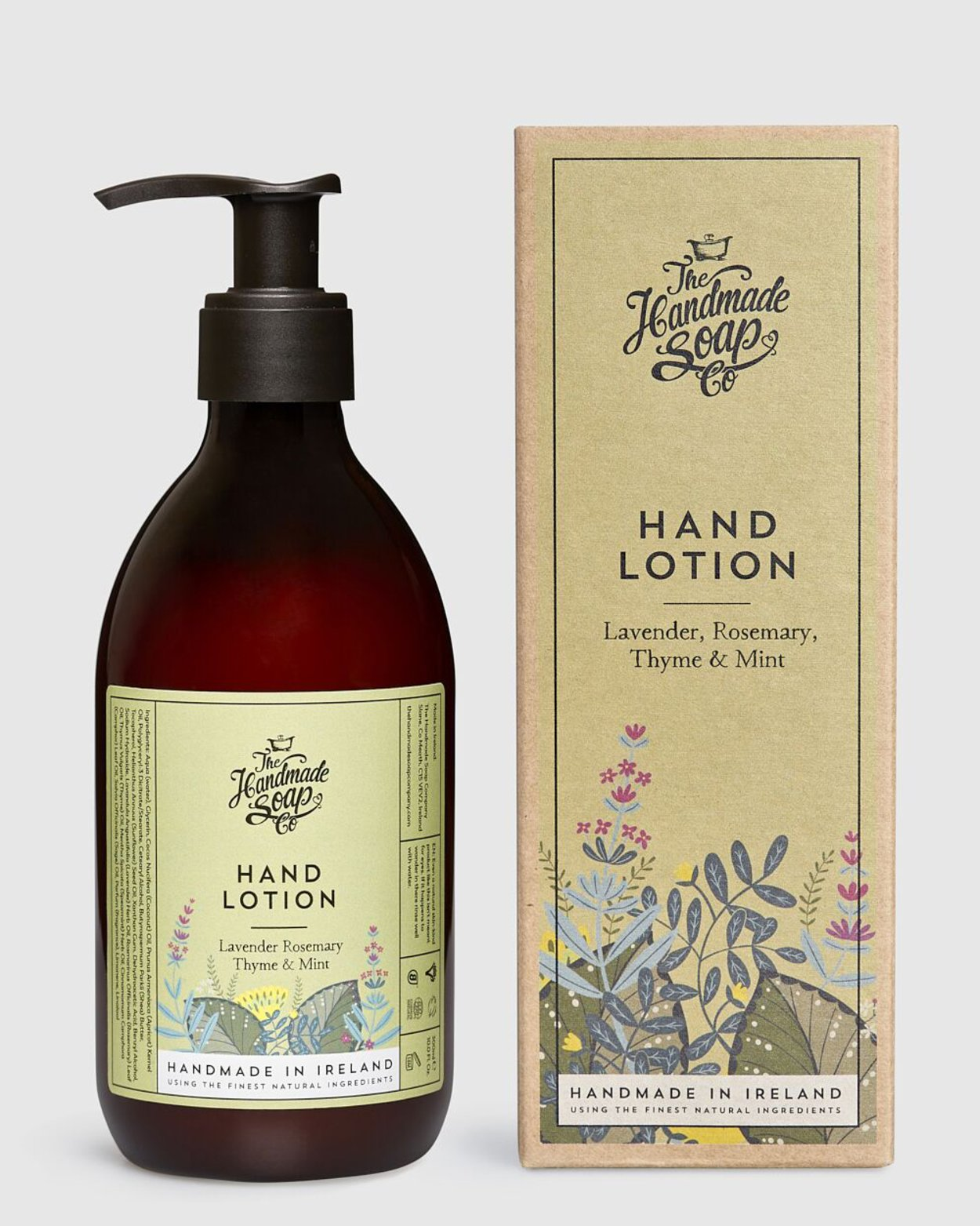 Lavender Rosemary Thyme & Mint Hand Lotion