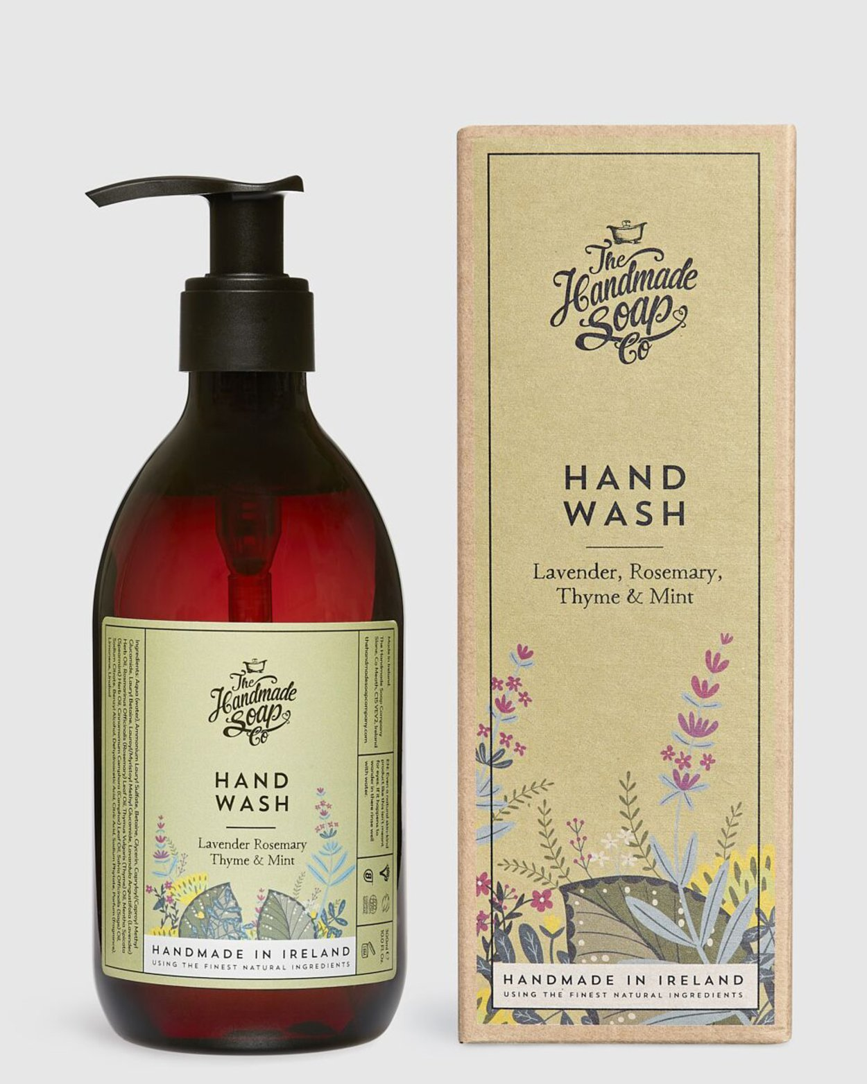 Lavender Rosemary Thyme & Mint Hand Wash