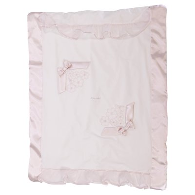Modì white cotton removable blanket