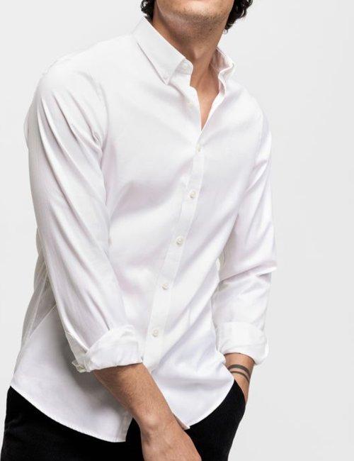 Camicia Gant in cotone - Bianco
