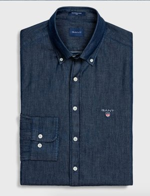 Camicia Gant effetto denim