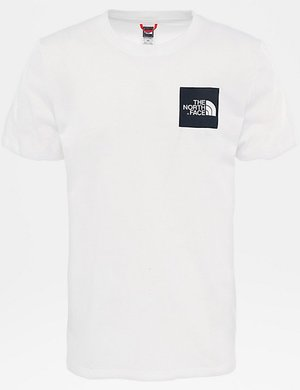 T-shirt The North Face con logo quadrato