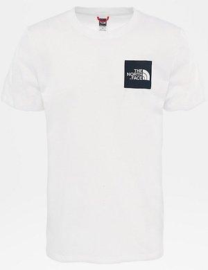 T-shirt The North Face con logo quadrato