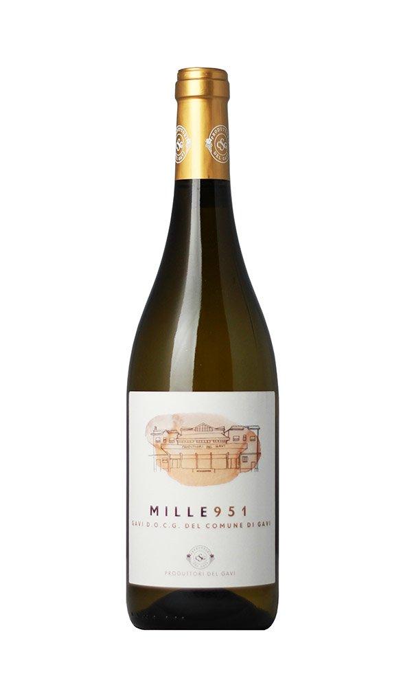 Libiamo - Gavi del Comune di Gavi Mille 951 by Produttori del Gavi (Case of 3 - Italian White Wine) - Libiamo