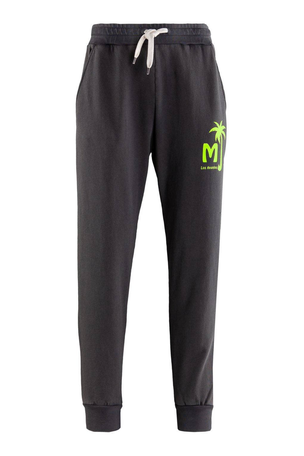 Fleece pants fluo detail