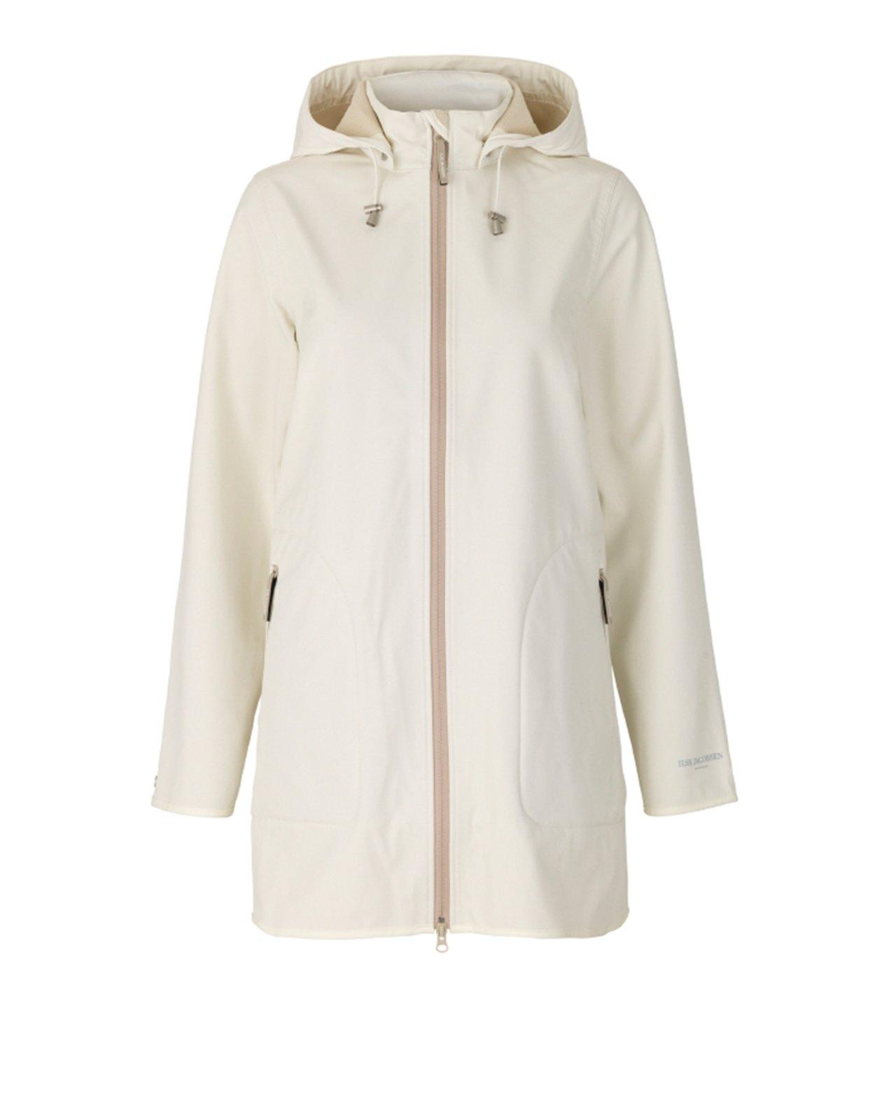 Short A-line Soft Shell Raincoat