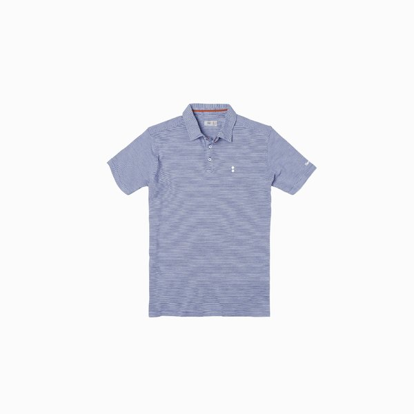 Men's minimalist three-button polo shirt E89