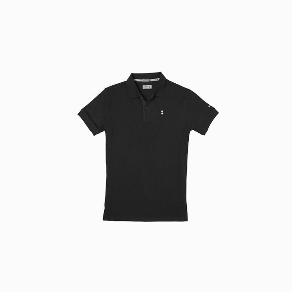 Men's Polo E72 in Cotton with 2 buttons and short sleeves