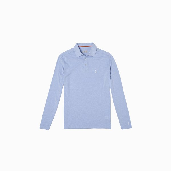 LS E69 Long Sleeve Cotton Polo Shirt