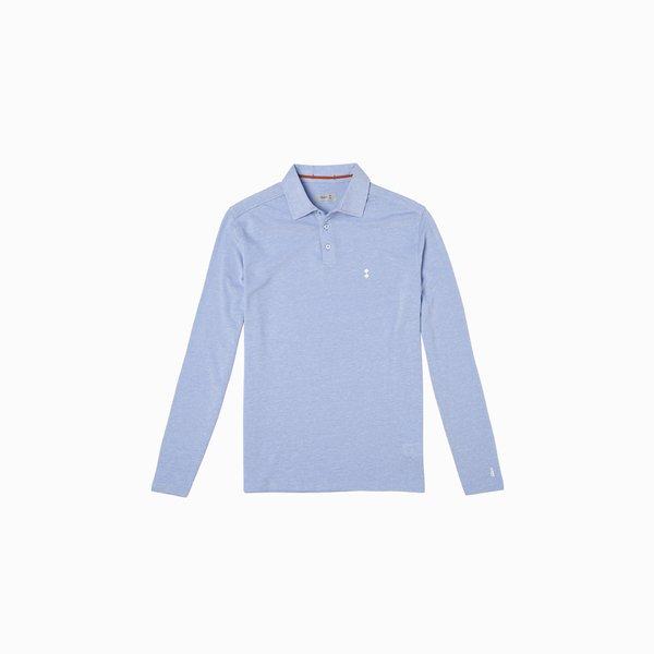 LS E69 Long Sleeve Cotton Polo Shirt