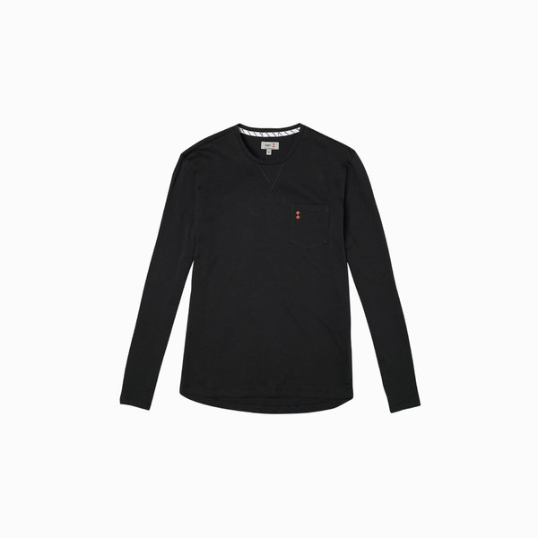 LS E120 Long Sleeve men's t-shirt with pocket