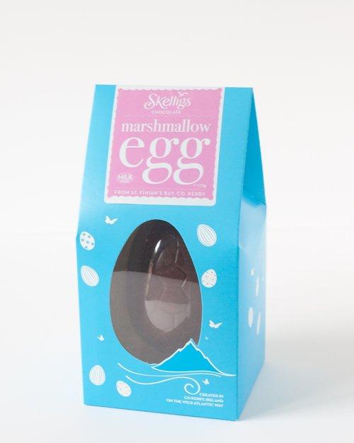 Skelligs Chocolate Marshmallow Milk Chocolate Egg