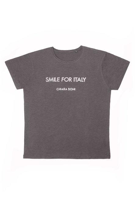 Smile for Italy T-shirt Chiara Boni La Petite Robe Man