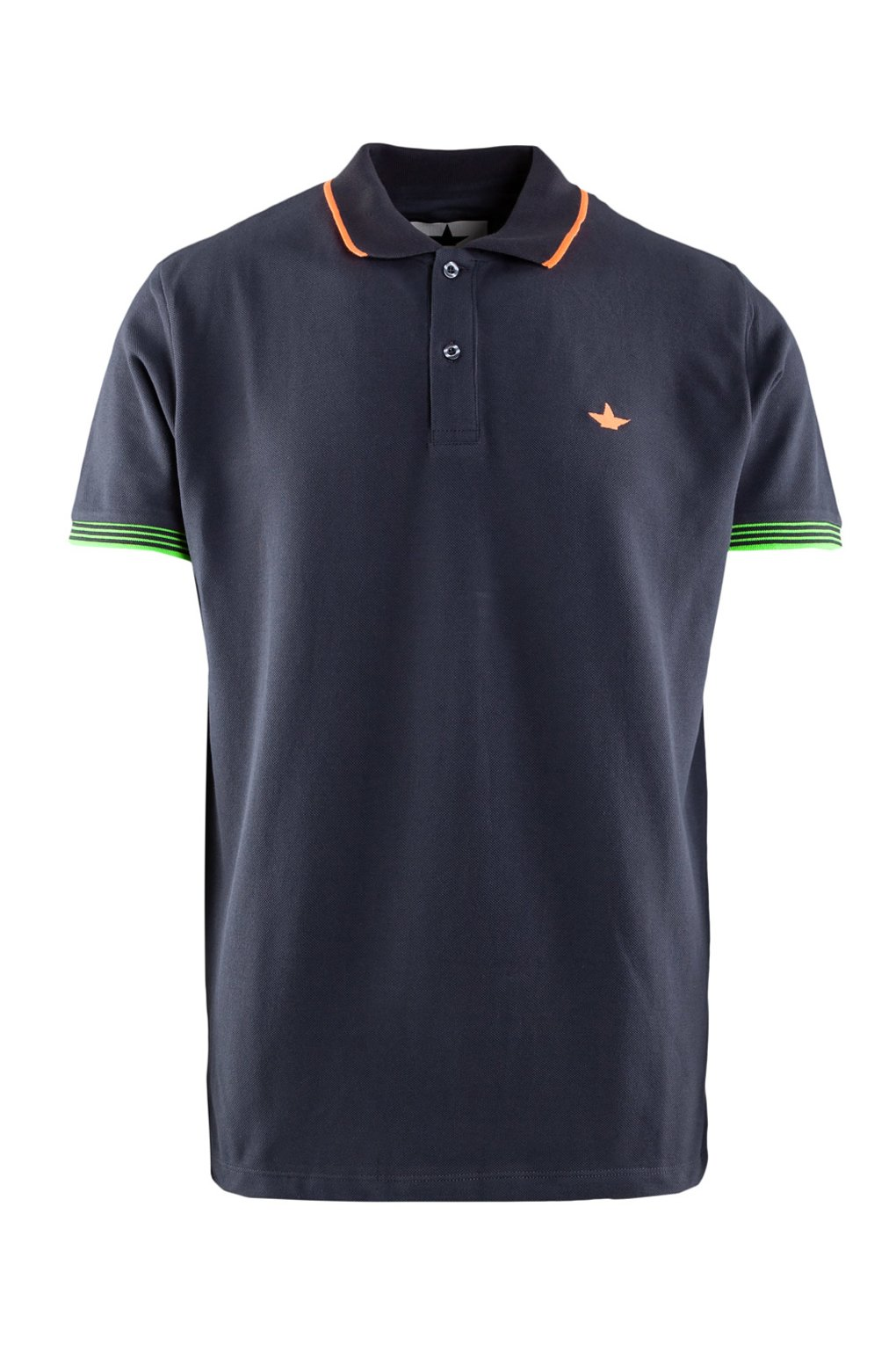 Oxford piqué polo shirt
