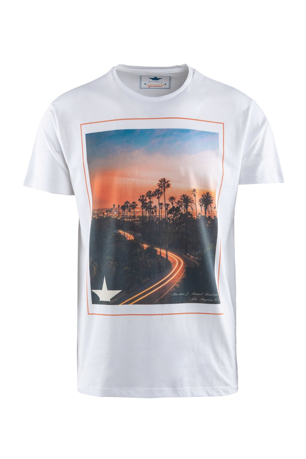 T-shirt Sunset Boulevard print