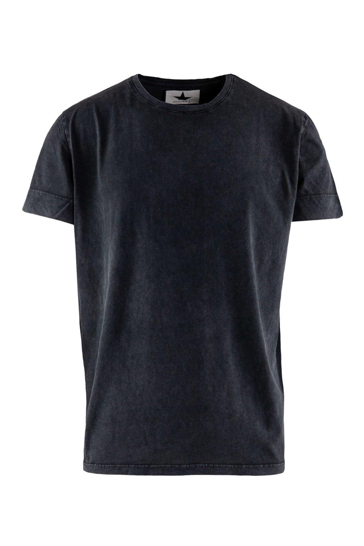 T-shirt Tinta in Capo Effetto Old