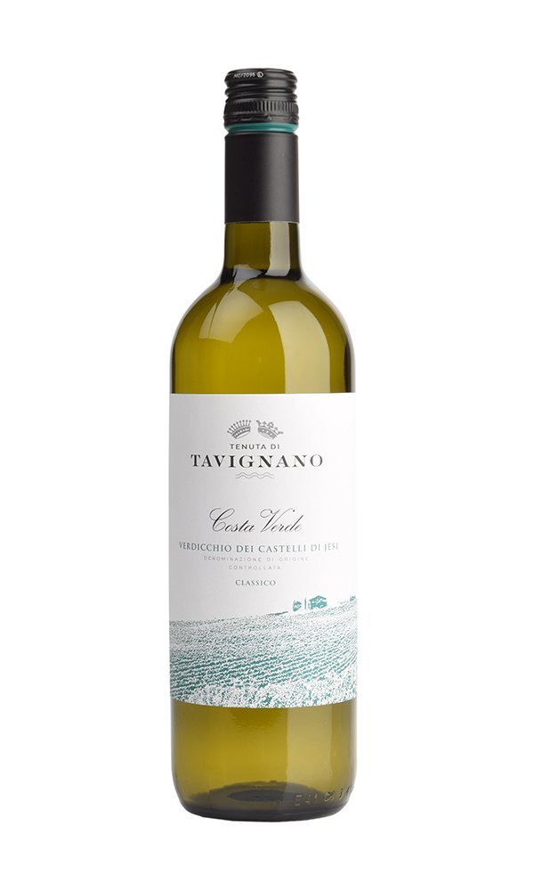 Libiamo - Verdicchio dei Castelli di Jesi Costa Verde by Tenuta di Tavignano (Case of 6 - Italian White Wine) - Libiamo