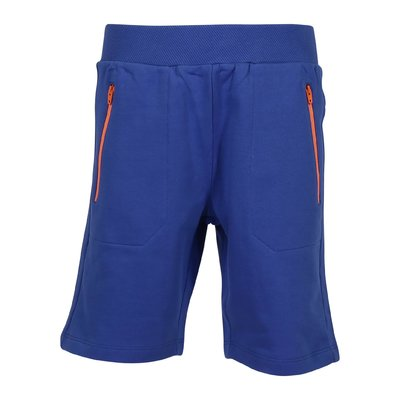 Blue cotton sweat shorts