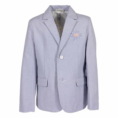 Light blue cotton jacket