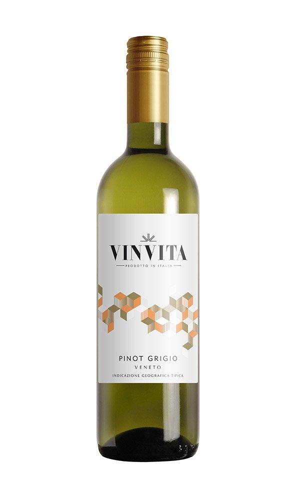 Libiamo - Pinot Grigio delle Venezie by Vinvita (Italian White Wine - Case of 6) - Libiamo