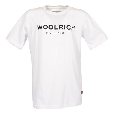 White logo cotton jersey t-shirt